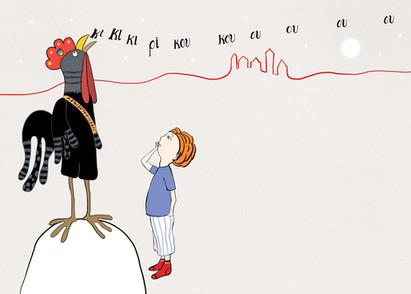 Το Αγόρι που Διάβαζε στις Κότες Παραμύθια / The Boy Who Fed Hens Fairy Tales