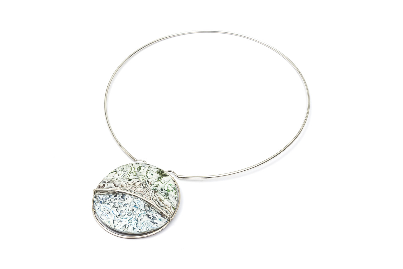 Points of View  Necklace - Brooch