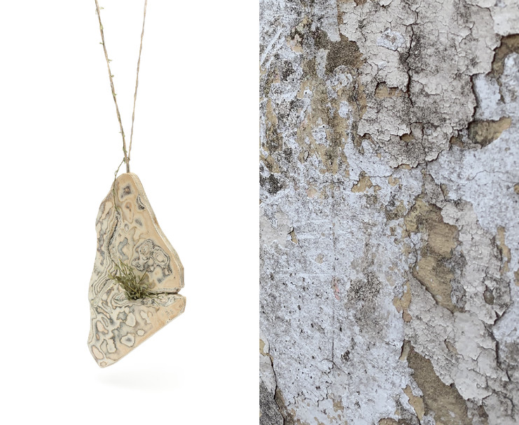 Wall Necklace. Resilience Series
