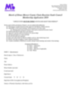 March of Dimes Mercer County Chain Reacton Youth Council Application 2019 Thumbnail