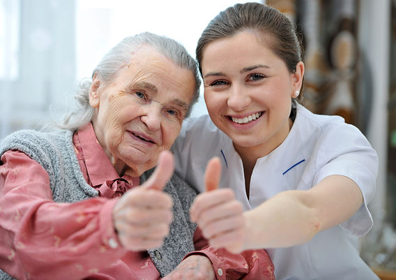 Dedicated team experienced in elderly care. We select our team members for their three qualities: dedication, kindness, and honesty