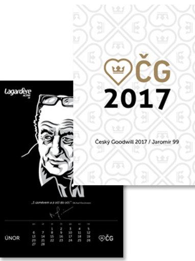 Kalendář ČG 2017 s vlastním potiskem