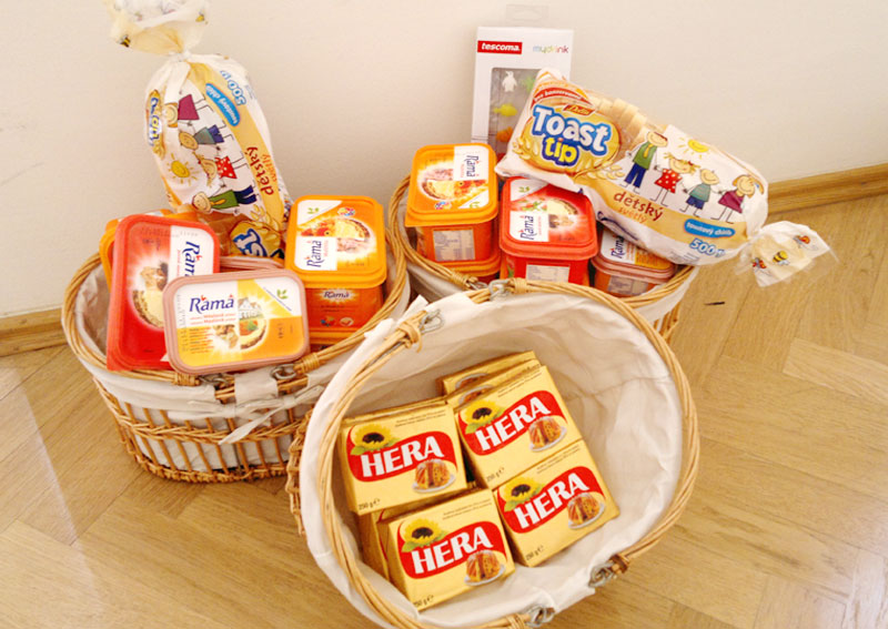 Soutěž a PR pro Unilever