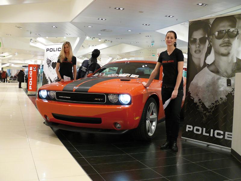 Police soutěž o víkend s Chargerem