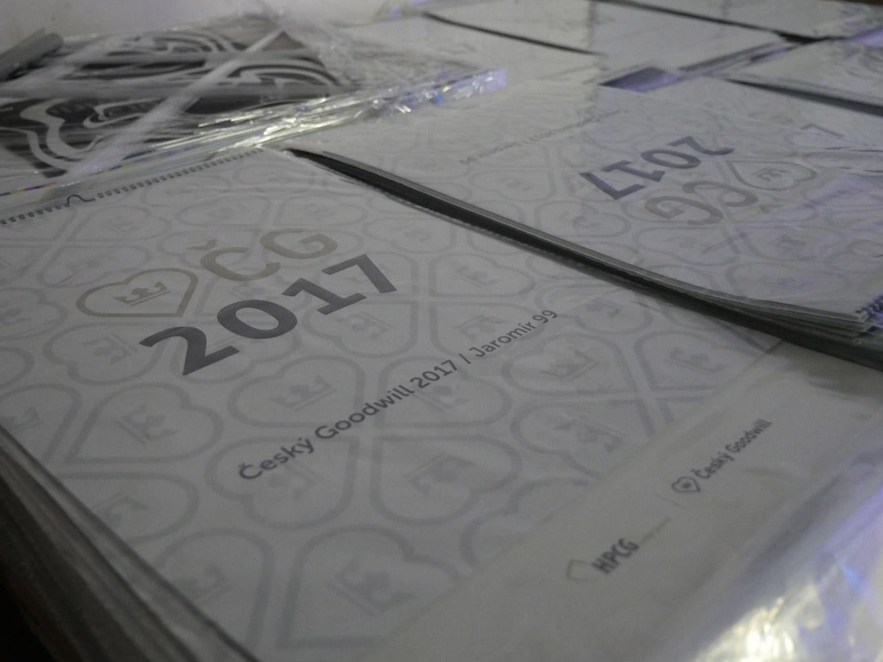 Křest kalendáře ČG2017
