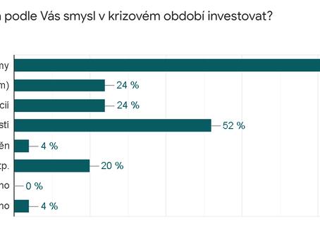 Do čeho investují čeští podnikatelé v době krize?