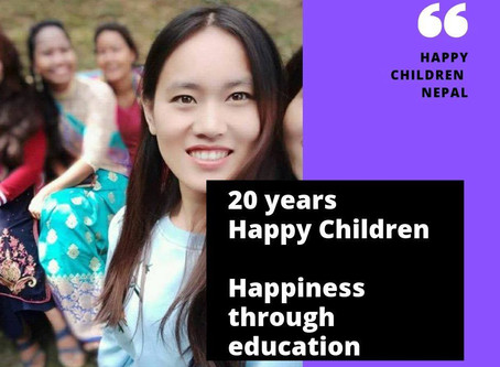 20 years anniversay of Happy Children