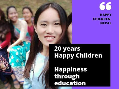 20 years anniversay of Happy Children