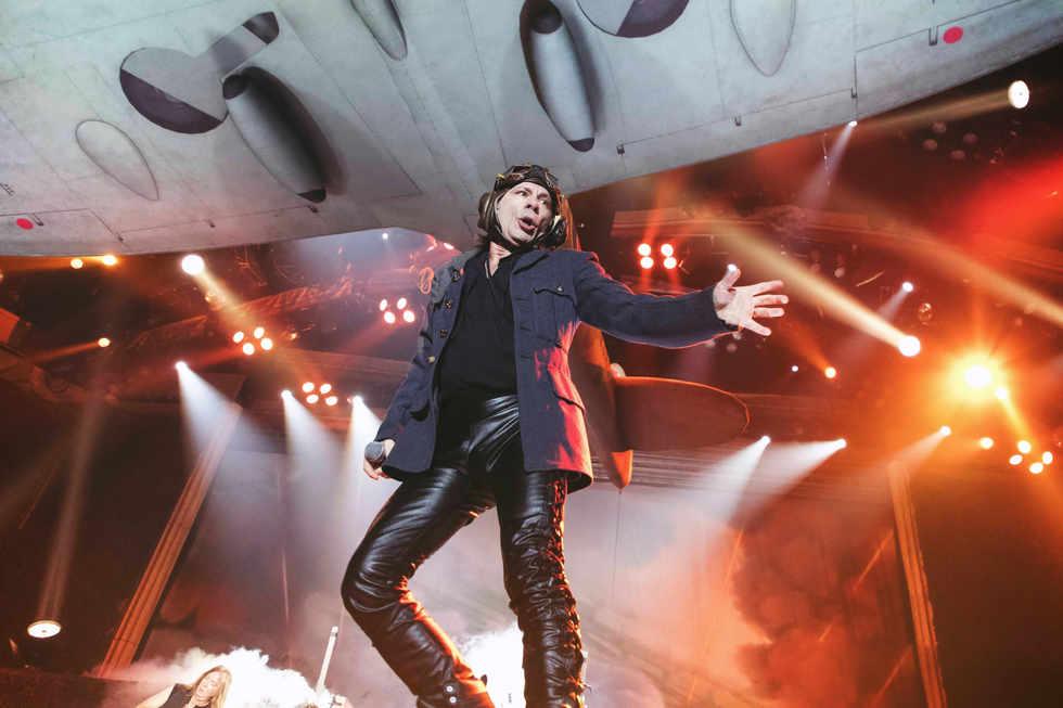Iron Maiden @ Accor Arena, Paris