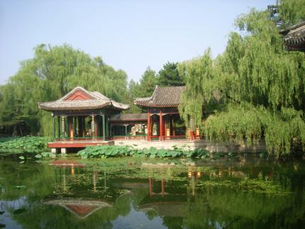Paseando por el Palacio de Verano 圓明園 de Beijing