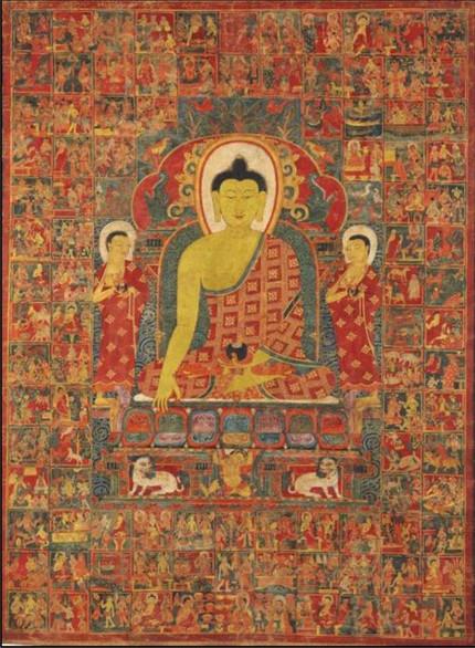 Tangkha y Long Da, representantes del Arte Folclórico Tibetano