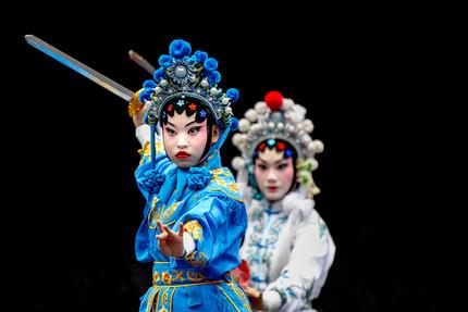 La Ópera China a  través de la historia