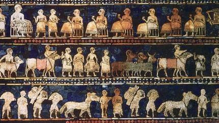 Los tesoros de la antigua Iraq