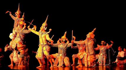 Danza teatro tailandesa