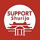 SUPPORT Shurijo みんなで見守る 首里城復興プロジェクトロゴ
