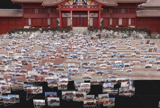 OUR Shurijo みんなの首里城デジタル復元プロジェクト イメージ