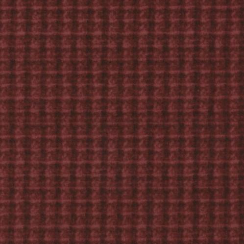 Woolies Flannel - Maroon - Double Weave