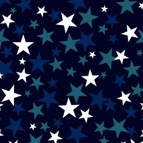 "Navy Stars - Wide Back 108"""