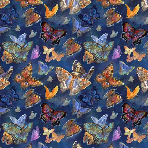 Ray of Hope - Butterflies (Blue) - Digital