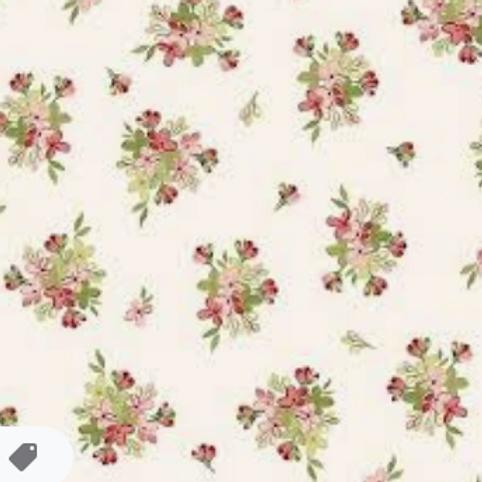 Sensibilities - Tiny Bouquets - Cream
