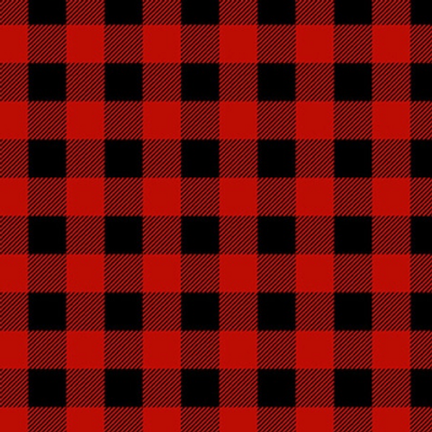 Timber Gnomies - Buffalo Check Red/Black