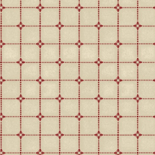 Heritage Woolies - Shirting Plaid - Red/Cream