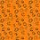 Thumbnail: Feline Frolic - Orange w/Metallic Swirls