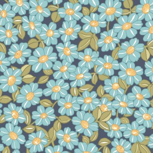 Sunlit Blooms - Blue Daisys