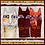 Thumbnail: Feline Frolic - Brown Metallic - Panel