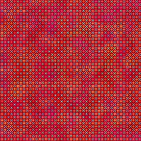 Unusual Garden II - Dots (Red)