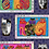 Thumbnail: Feline Frolic - Purple Metallic - Panel