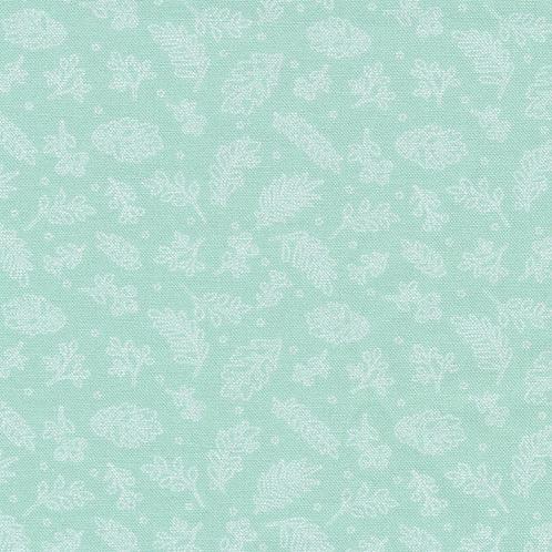 Cherished Moments - Leaves - Mint