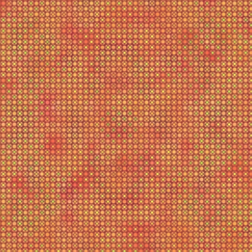 Unusual Garden II - Dots (Orange)