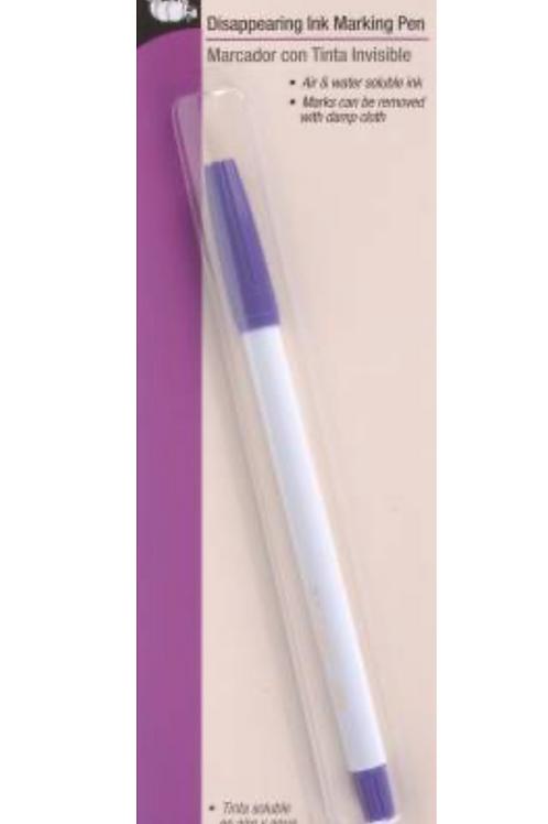 Dritz Disappearing Ink Pen Purple