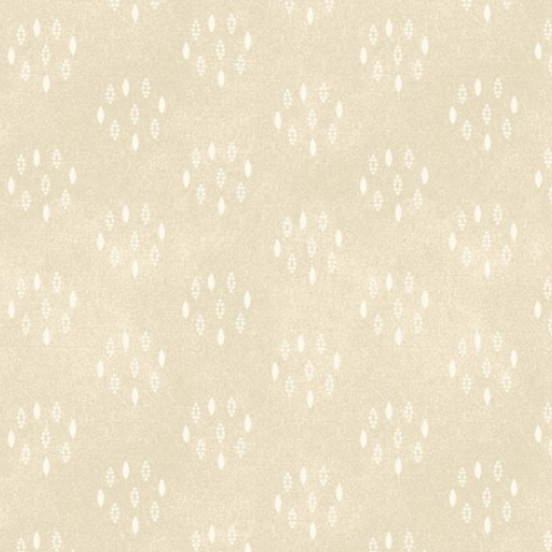 Heritage Woolies - Circle Dots - Cream