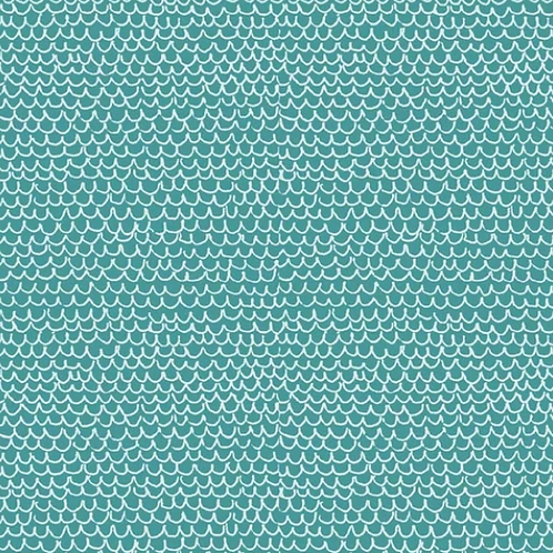 Fish Fest - Teal Scales