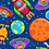 Thumbnail: Lost in Space - Planets (Blue)