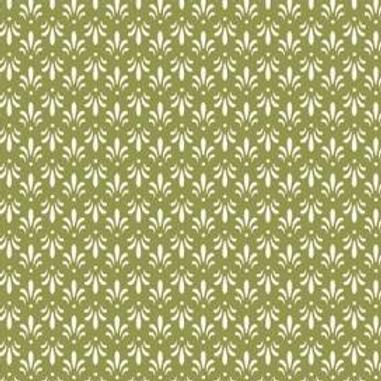 Sensibilities - Fleur De Lis - Green
