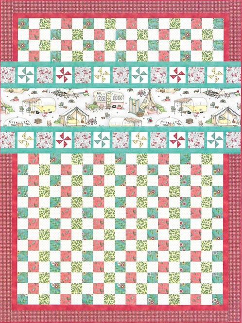 Pinwheels & Playgrounds Quilt Kit