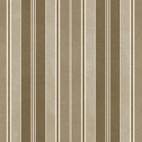 Heritage Woolies - Awning Stripe - Brown