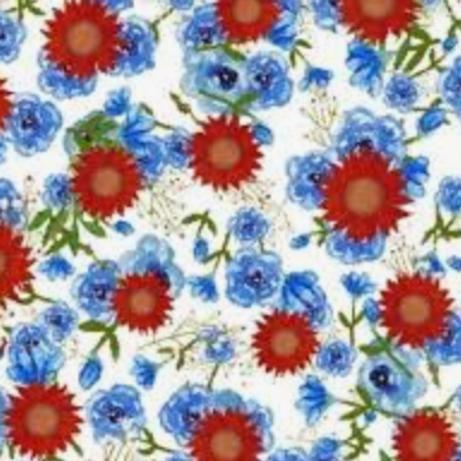 American Spirit - White w/Floral