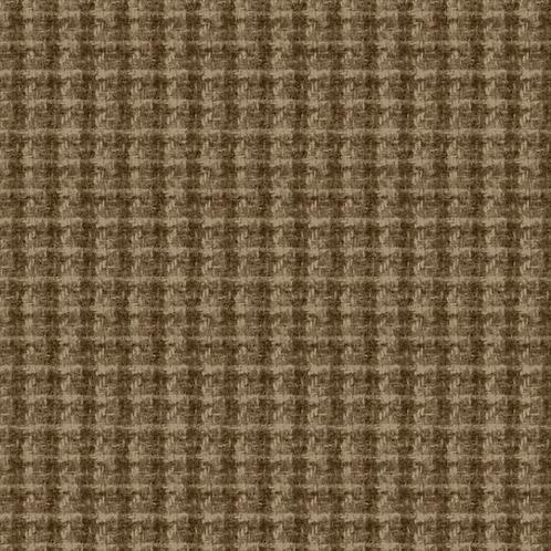 Woolies Flannel - Brown - Plaid