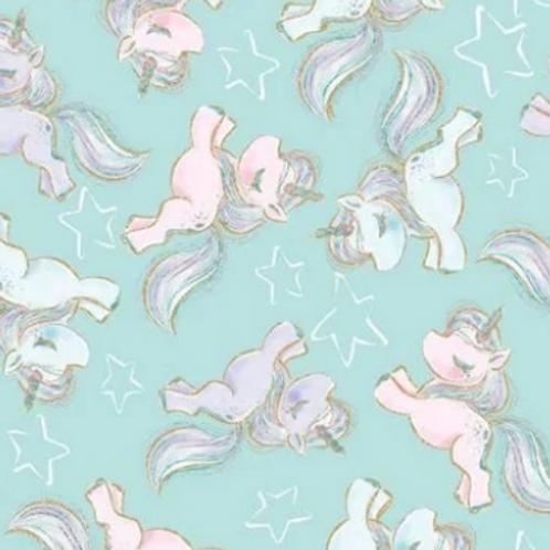 Unicorn Sparkle - Teal