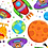 Thumbnail: Lost in Space - Planets (White)