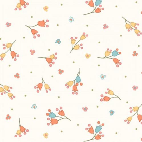 Sunlit Blooms - Cream Buds