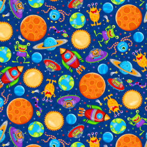 Lost in Space - Planets (Blue)