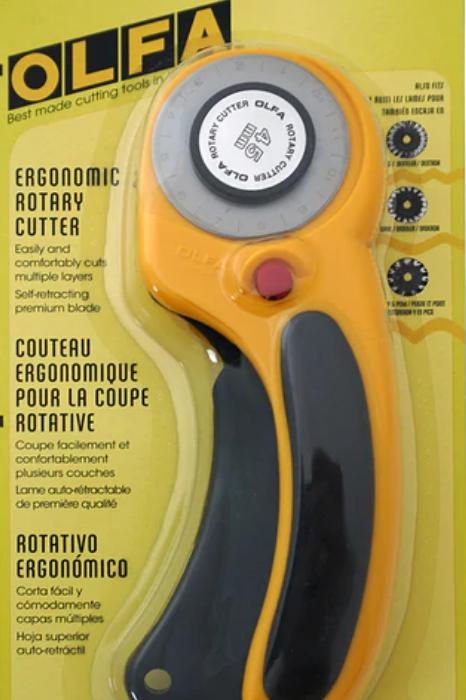 Olfa 45 mm Deluxe Ergonomic Rotary Cutter
