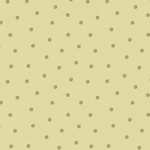 Sunlit Blooms - Green Dots