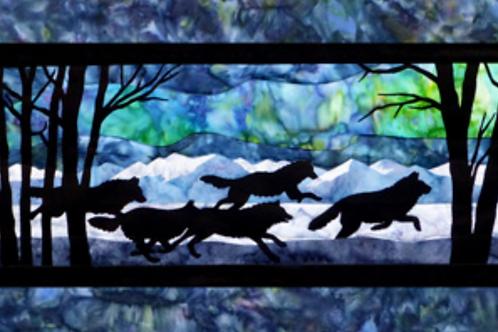 Aurora Nights, Through the Forest - Laser Pre-Cut Kit