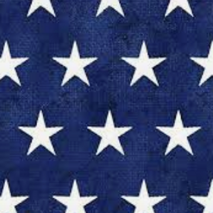 American Spirit - Blue w/White Stars